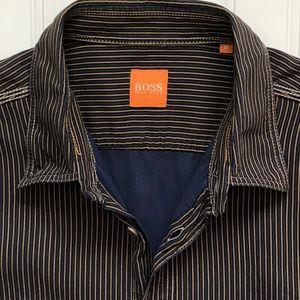 BOSS HUGO BOSS Long Sleeve Button Down Shirt!  M